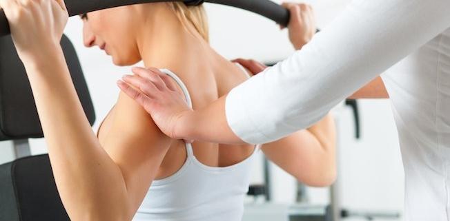 Medizinische Trainingstherapie am Gerät